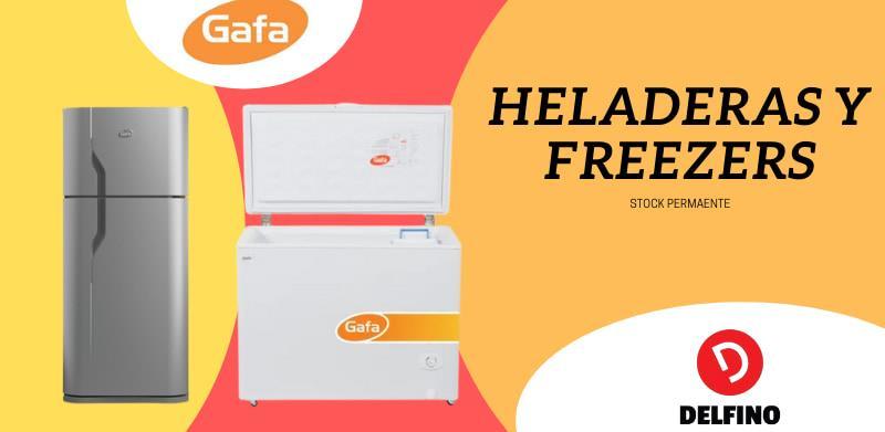 Heladera Gafa - Freezer Gafa