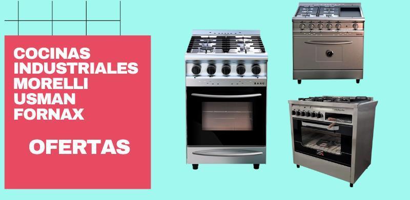 Cocina industrial 4 hornallas - Cocina Industrial Morelli