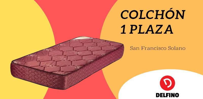 Colchon 1 plaza San Francisco Solano