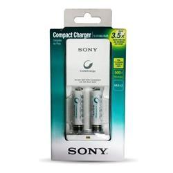Cargador De Pilas Sony BCG-34HW2KAN +2 Pilas Aaa Sony