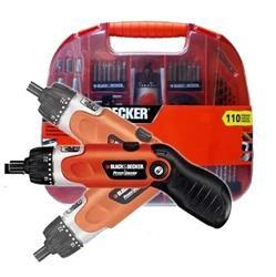 Atornillador Bateria 3.6 V Fdx 100 Black Decker 9078 110 Pz
