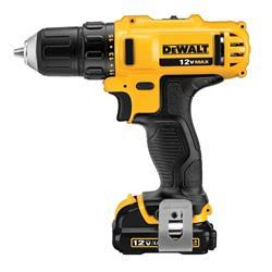 Taladro eléctrico destornillador DeWalt DCD710S2 inalámbrico 1500rpm amarillo 12V 12V