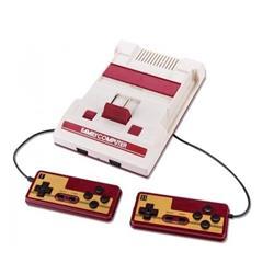 Consola HBL Tech Family Game Classic color blanco y rojo